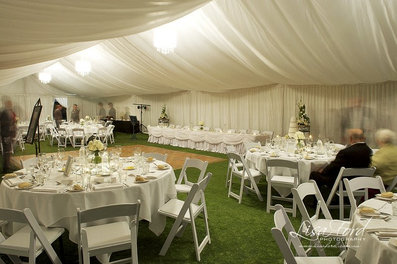 Weddings links hope island the gold coasts finest golf course marquee with people junglespirit Images